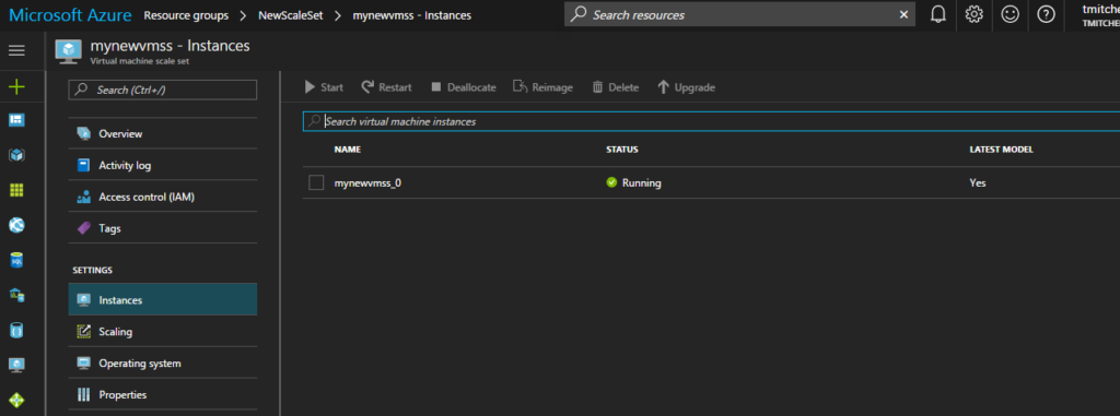 Deploying an Auto-Scaling VM Scale Set with a Custom Disk Image